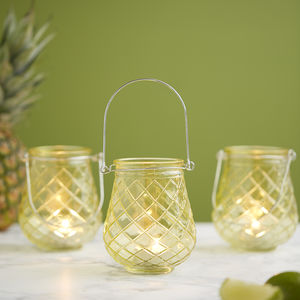 Pineapple Tea Light Holder - candles & home fragrance