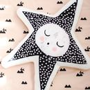 Sleepy Star Handmade Cushion