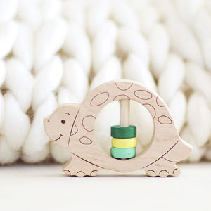 Eco Baby Rattle Turtle