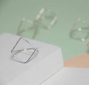 Square Ring - rings