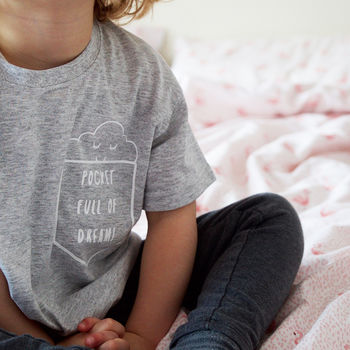 'Pocket Full Of Dreams' Kids T Shirt