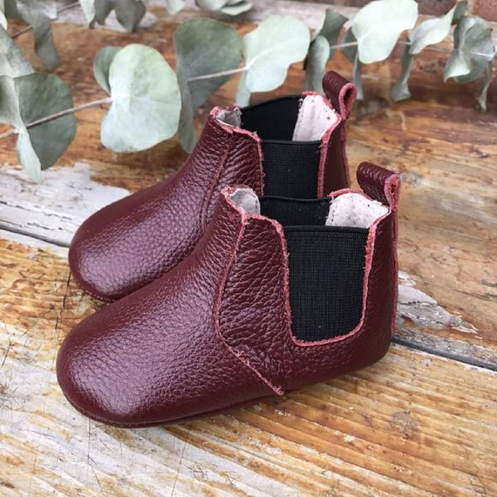 claret chelsea boots' for baby and
