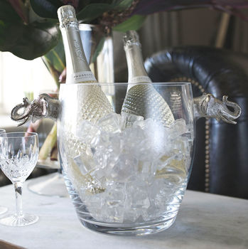 Elephant Glass Wine Cooler