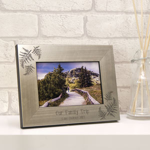 Personalised Fern Photo Frame - home accessories
