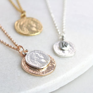 Personalised Coin Necklace