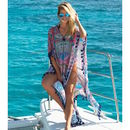Havana Multi Maxi Length Beach Kaftan