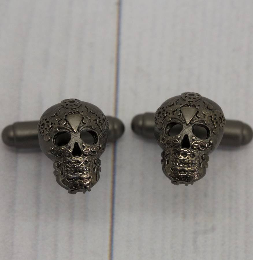 Flawless Jewellery Skull Cufflinks