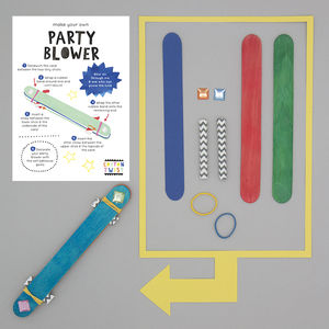 Make Your Own Party Blower Kit - toys & games