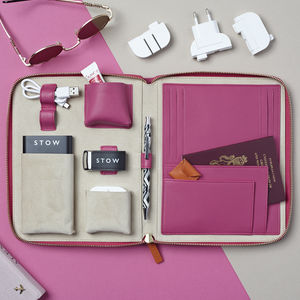 Ladies First Class Travel Tech Case - gifts for her