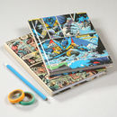 Superhero Comic Book Notebook Journal A5
