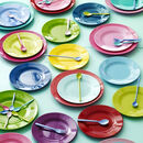 Colourful Melamine Picnic Camping Kids Plate
