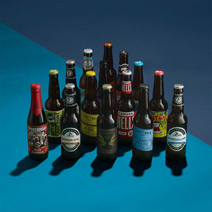 30 Craft Beers And Lagers And Tasting Glass - christmas tipple edit