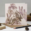 'Turtle Doves' Christmas Card