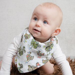 Double Muslin Dribble Bib