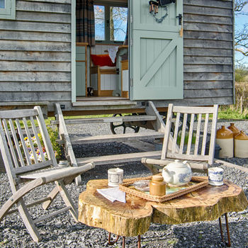 Shepherd Hut Two Night Stay And Garden Oven Supper