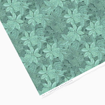 Leafy Botanical Wrapping Paper