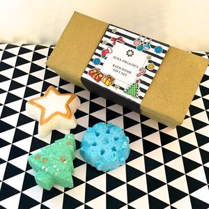 Christmas Bath Bomb Gift Set