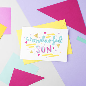 'Wonderful Son' Card