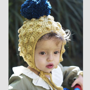 Baby And Child Mustard Pixie Hat