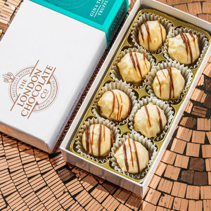 Gin And Tonic Chocolate Truffle Gift Box - 50th birthday gifts