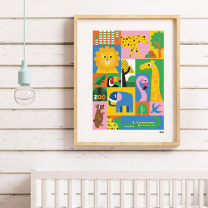 Zoo Children's Print