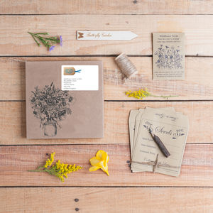 Three Month Wildflower Seed And Stationery Subscription - garden sale