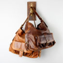 Large Slouchy Pocket Tote Handbag