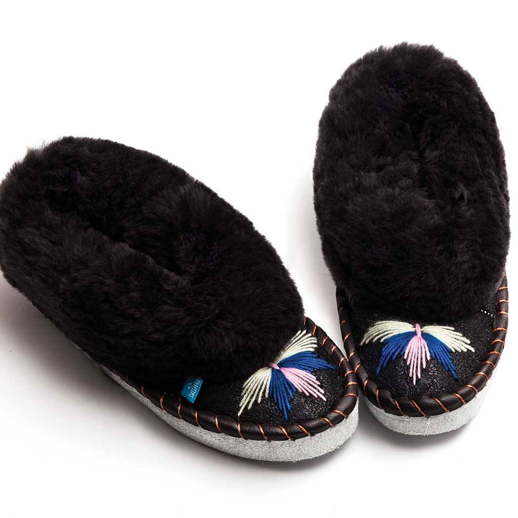 556758cc0fe the dark grey sheepers slippers by sheepers