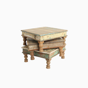 Scrapwood Square Table - furniture
