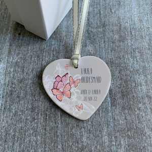 Bridesmaid Personalised Ceramic Gift