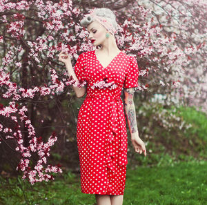 Lilian Dress | Authentic Vintage 1940's Style