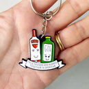 'Together In Spirits' Friendship Keyring