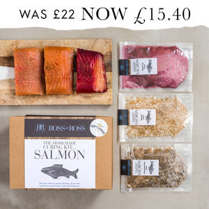 Make Your Own Cured Salmon Kit Gift Of The Year 2017 - lust list for him