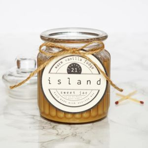 Warm Vanilla Fudge Scented Soy Candle - kitchen