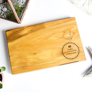 Personalised 'Birthday' Cheese/Chopping Board - chopping boards