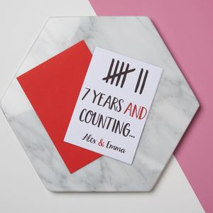 Funny Anniversary Tally Card - shop by occasion