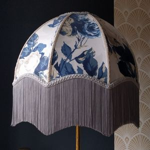 Mulberry Scallop Dome Lampshade - lamp bases & shades