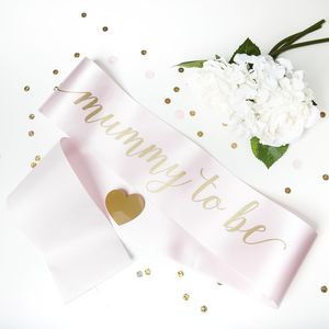 Baby Shower Mummy To Be Sash - occasion