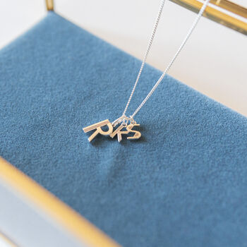 Personalised Family Initials Necklace