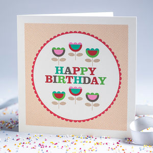 Hunkydory Birthday Card