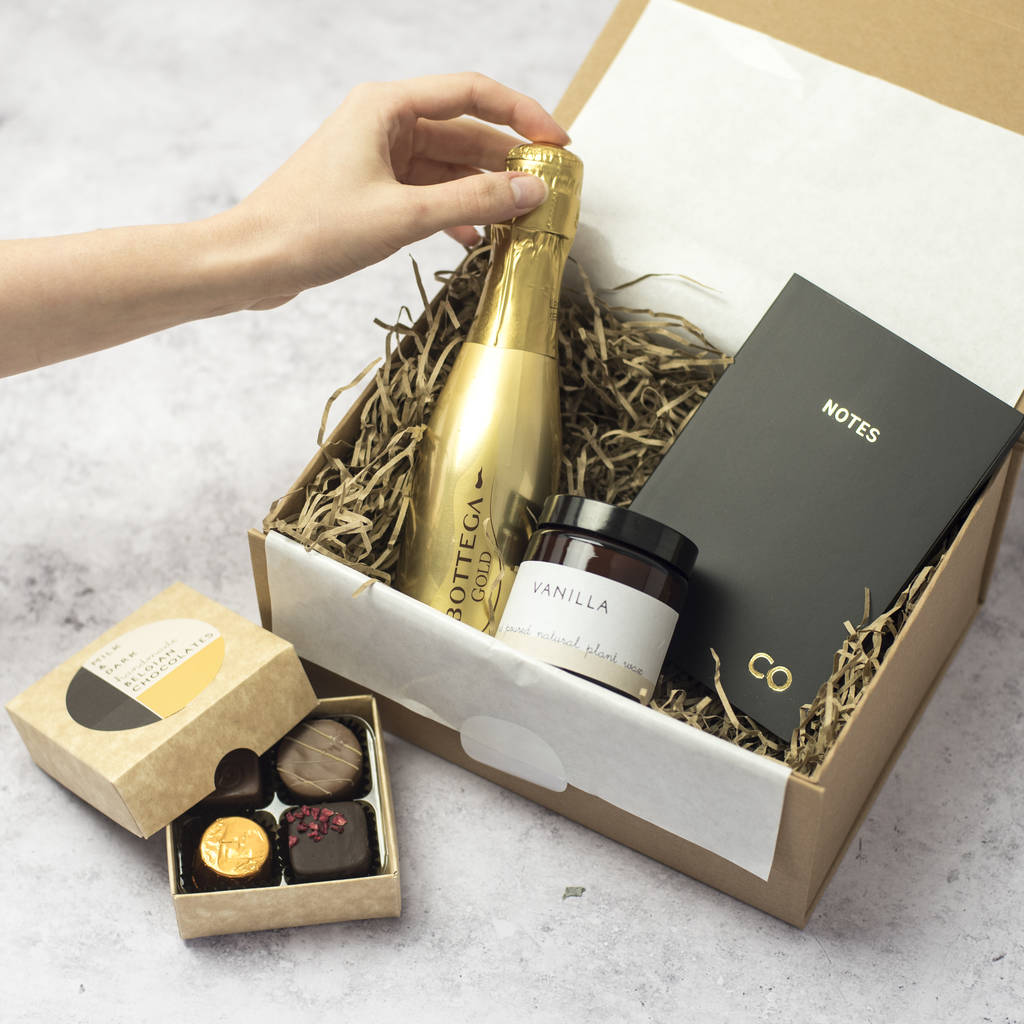 Personalised Thank You Gift Box By Fora Creative