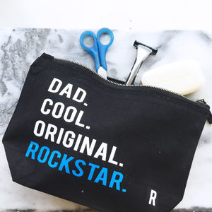 Personalised Rockstar Washbag