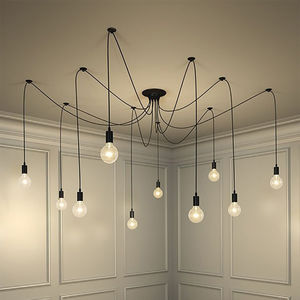 Vintage Spider Pendant Light - pendant lights
