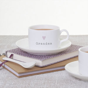 Personalised Cup And Saucer - kitchen