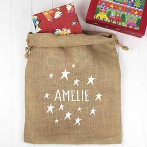 Personalised Santa Sack - christmas sale