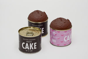 Chocolate Cake In A Can - 40th birthday gifts