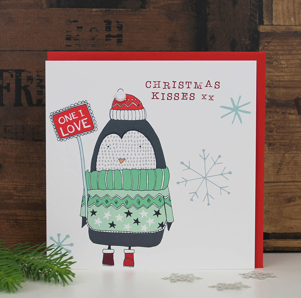 christmas card for your other half by molly mae | notonthehighstreet.com