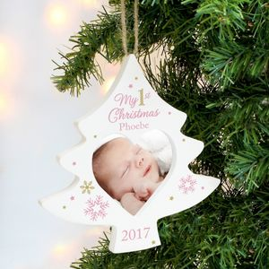 Personalised Christmas Hanging Decoration