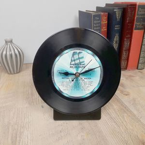 Vinyl Record Wall Desk Clock