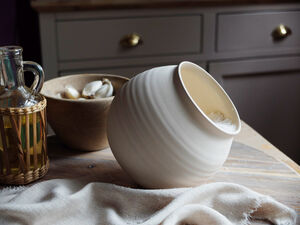 Handmade Ceramic Salt Cellar